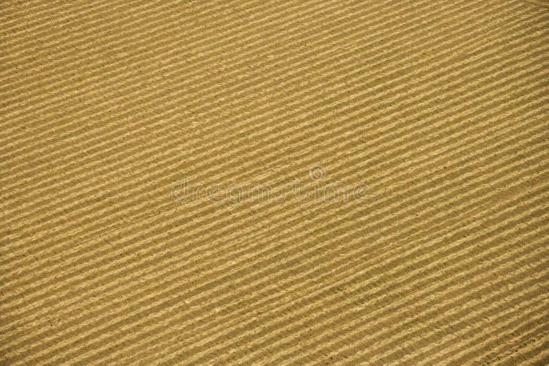Antena de la cosecha. imagen de archivo