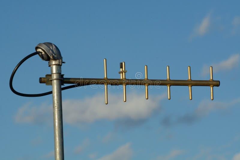 Antena de la frecuencia ultraelevada Yagi imagenes de archivo
