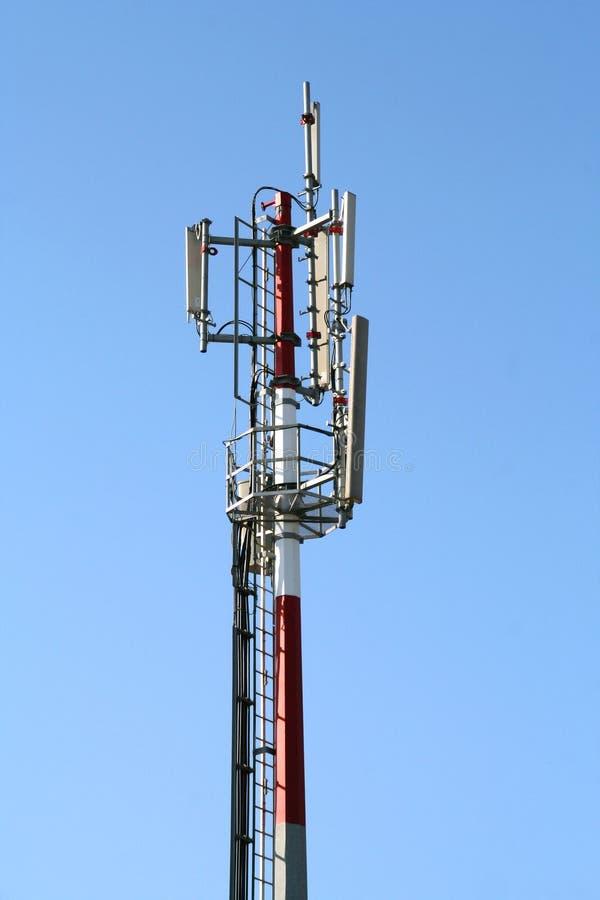 Antena de las comunicaciones foto de archivo