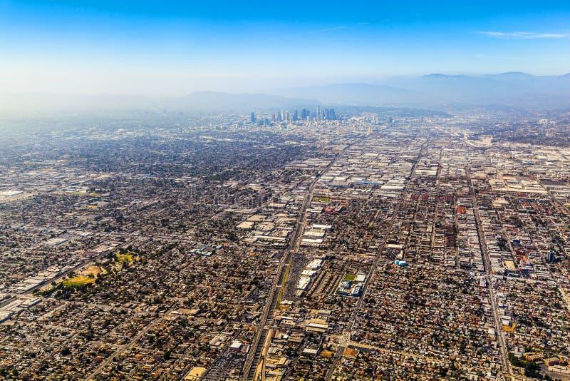 Antena de Los Angeles fotografia de stock royalty free