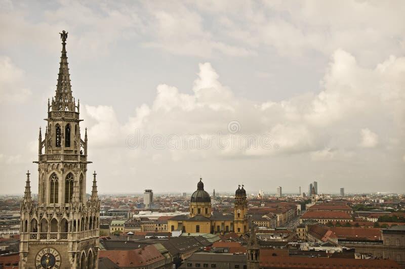 Antena de Munich fotografia de stock
