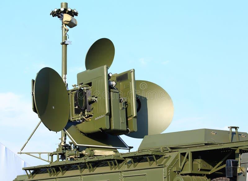 Antena de radar imagens de stock