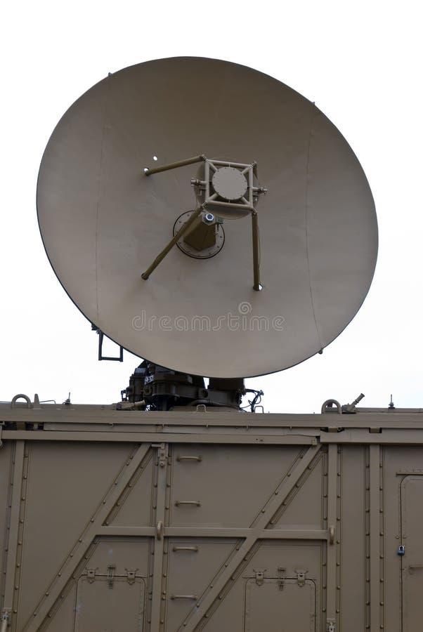 Antena de radar militar imagenes de archivo