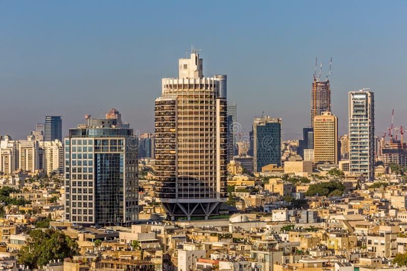 Antena de Tel Aviv fotografía de archivo libre de regalías