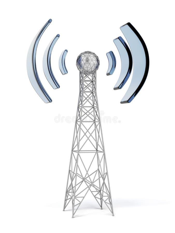 Antena de uma comunicação ilustração royalty free