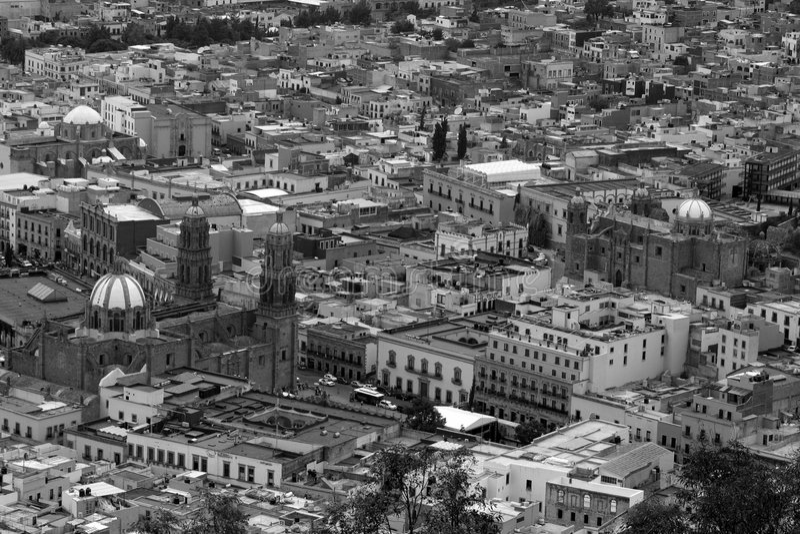 Antena de Zacatecas fotos de archivo