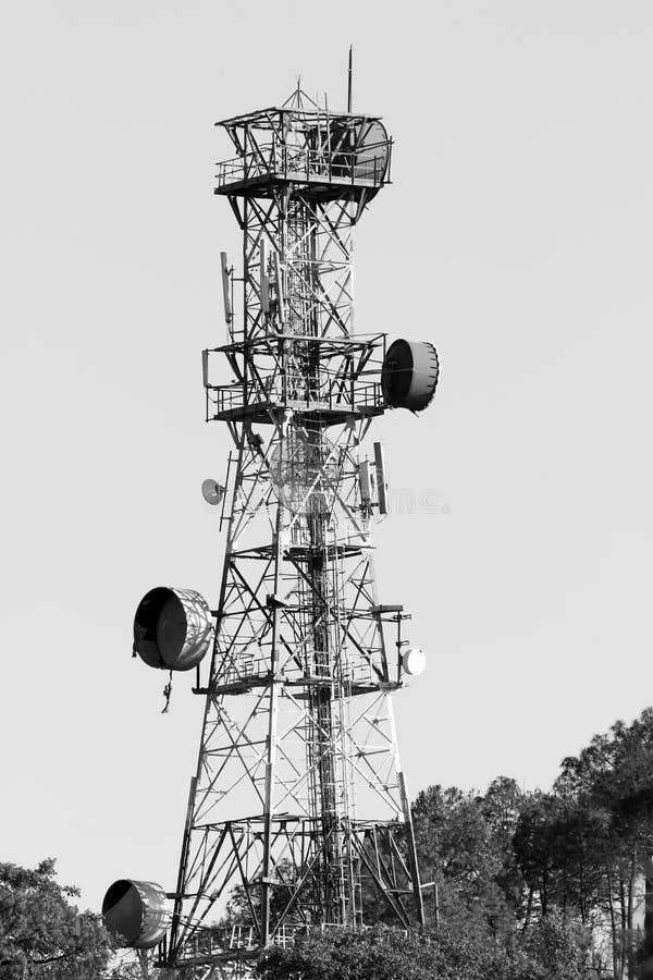 Antena del teléfono imagenes de archivo