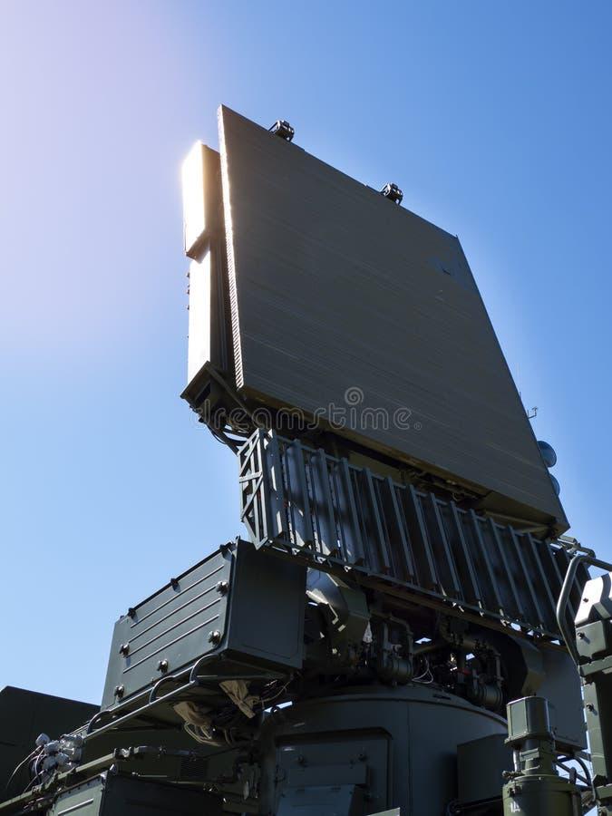 Antena dos sistemas da defesa aérea fotografia de stock royalty free