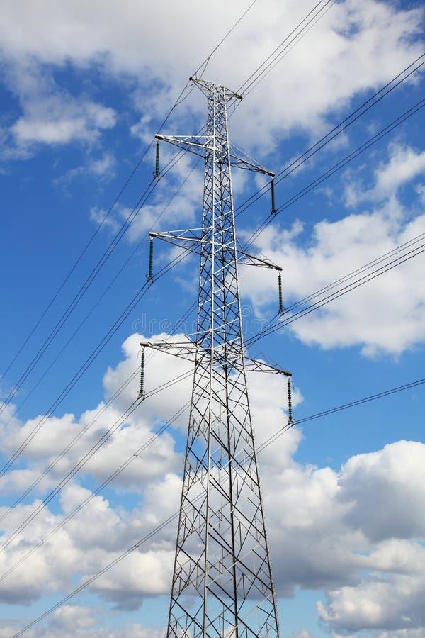 Antena eléctrica fotografía de archivo