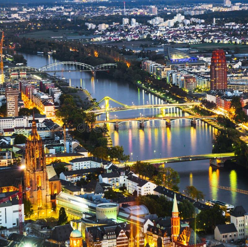 Antena Frankfurt magistrala obrazy royalty free
