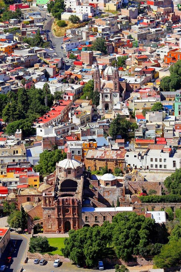 Antena IV de Zacatecas imagem de stock
