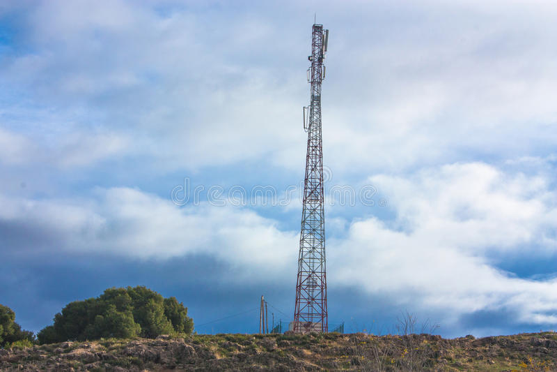 Antena Kontrollturm stockfotografie