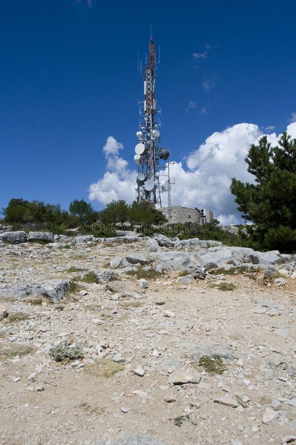 Antena par radio photo stock