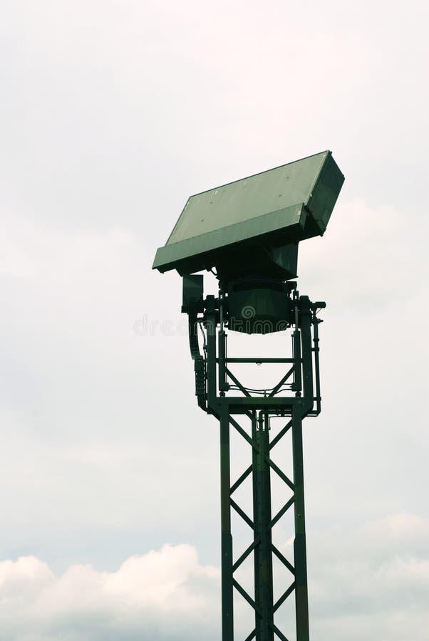 antena radar obraz stock