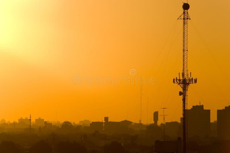 antena słońca obrazy stock