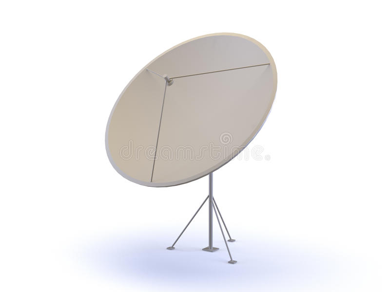 antena satelita ilustracja wektor