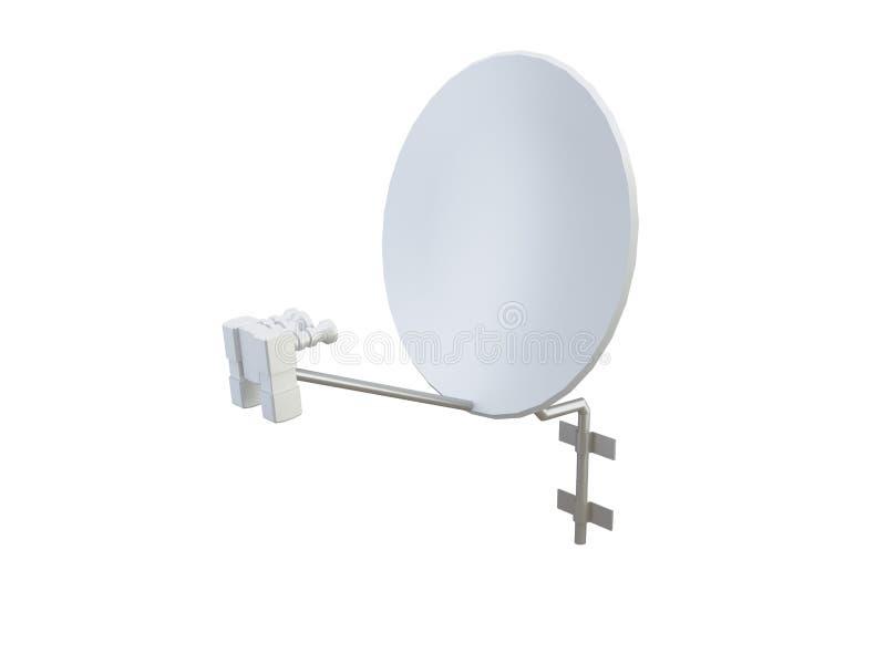 Antena satellite illustration de vecteur