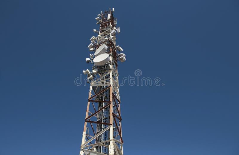 Antenas de uma comunicação foto de stock