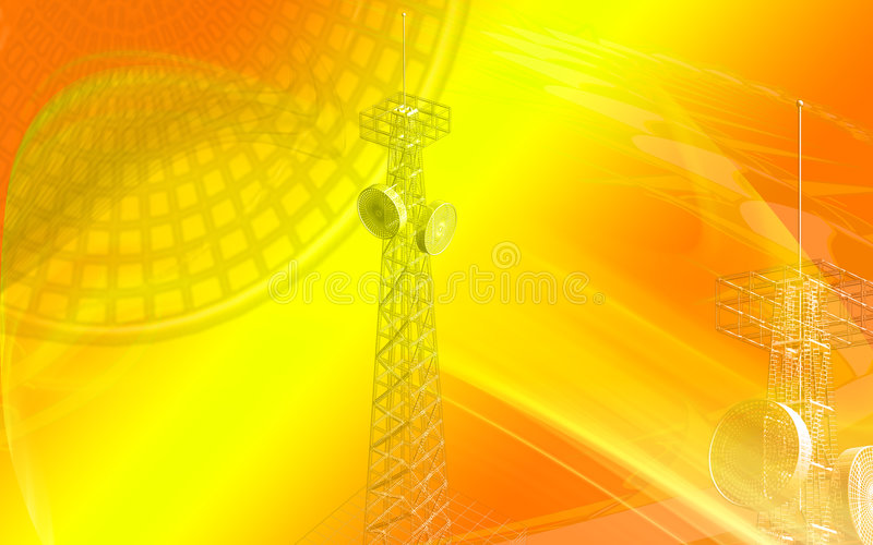 antenn vektor illustrationer