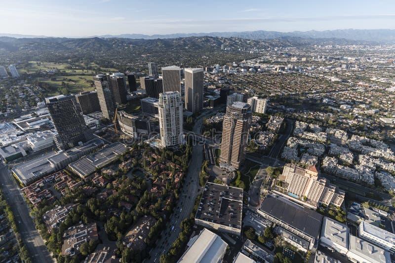 Antenn för Bl för Los Angeles århundradestad olympisk royaltyfri fotografi