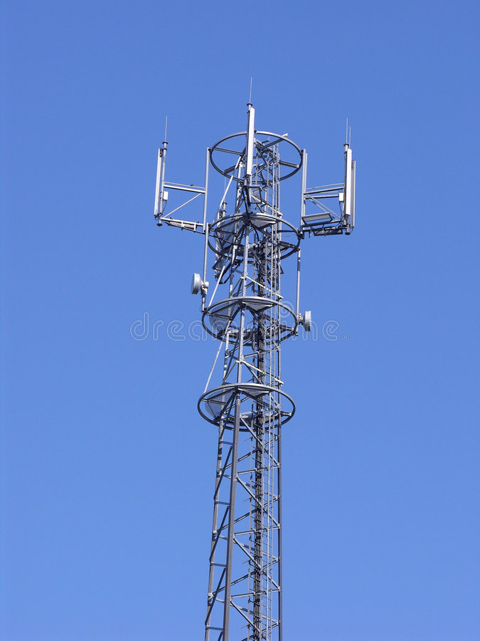 Download Antenn g/m2 arkivfoto. Bild av fara, industri, stad, kabel - 285106
