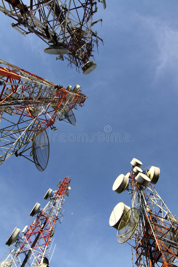 Free Antenna Royalty Free Stock Image - 21835326