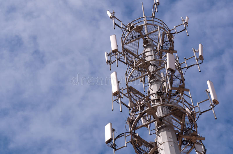 Download Antenna stock image. Image of communications, green, connectivity - 25093365