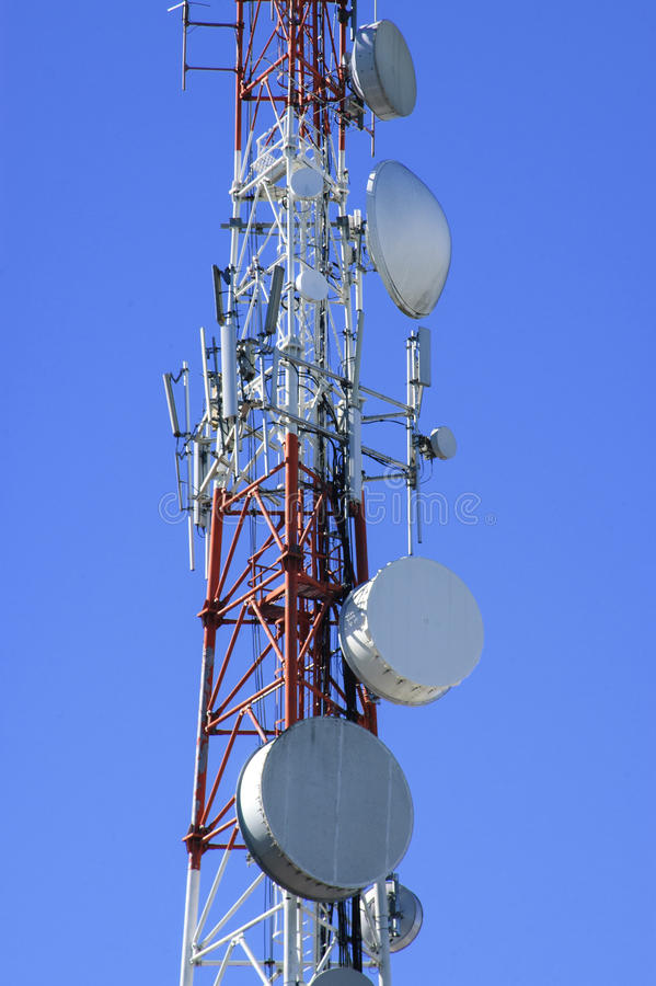 Download Antenna stock photo. Image of networks, mobile, signals - 29444486
