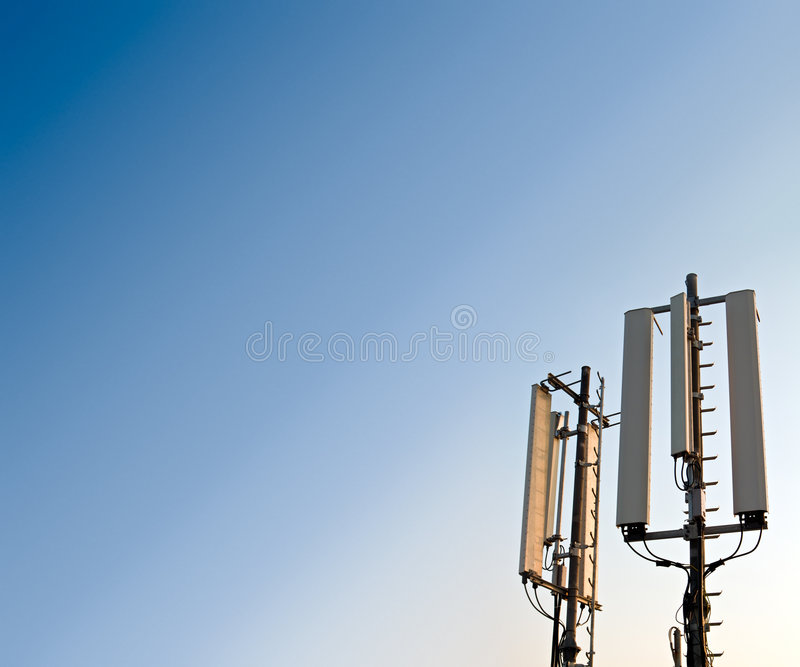Download Antenna stock photo. Image of cellphone, message, telecommunication - 6150554