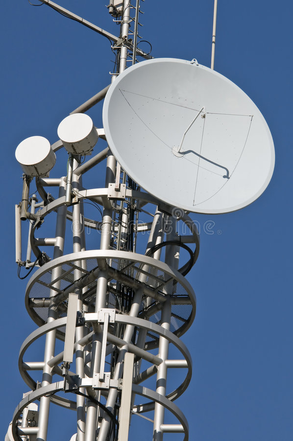 Download Antenna stock image. Image of tower, receive, radio, booster - 7863647