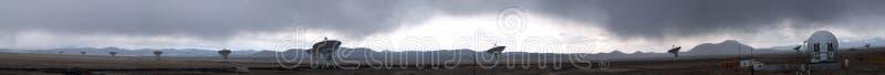 Download Antenna Array Rainstorm Panorama Stock Photo - Image: 717502