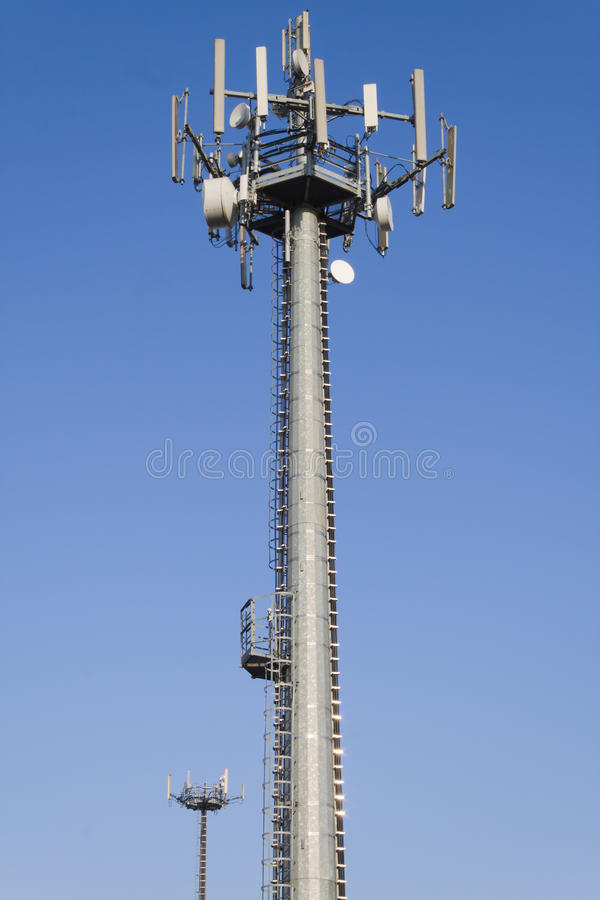 Download Antenna cellular stock photo. Image of internet, transmission - 18429538