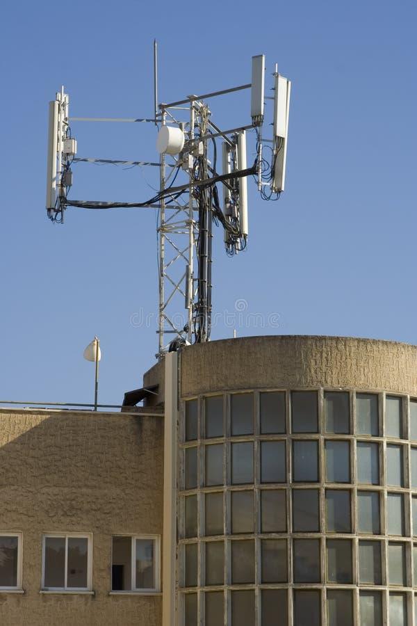 Antenna cellulare immagine stock libera da diritti