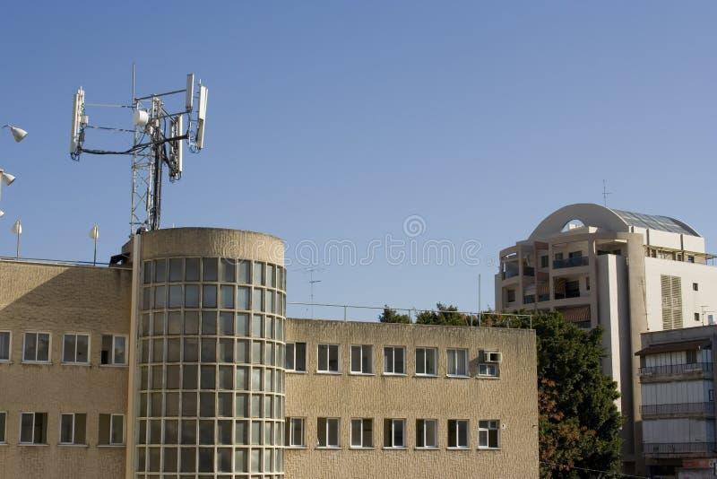 Antenna cellulare fotografia stock libera da diritti