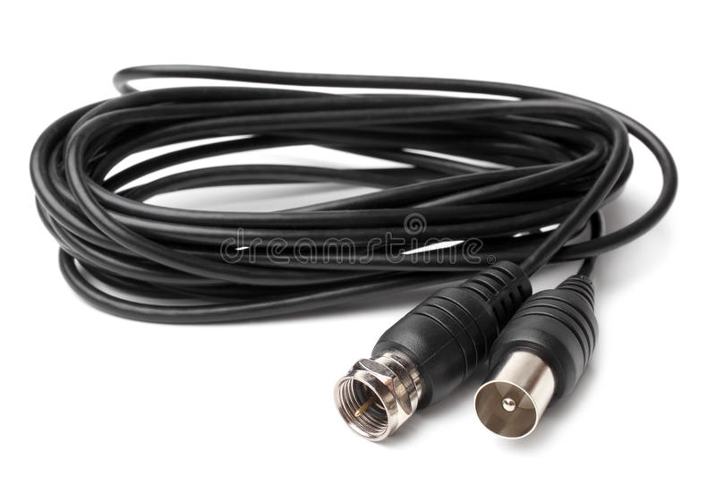 Antenna Coax Cable FME royalty free stock images