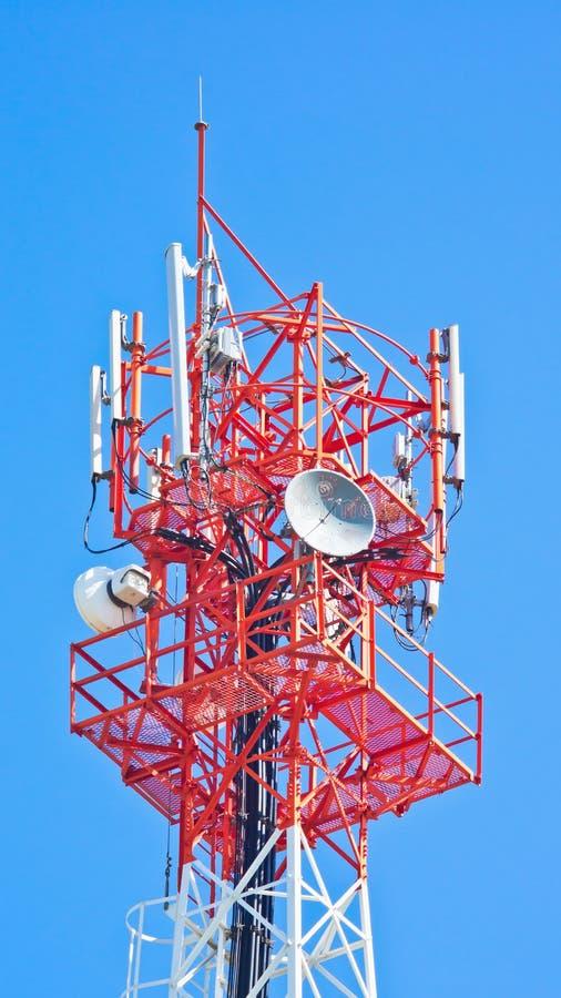 Antenna of Communication Building.