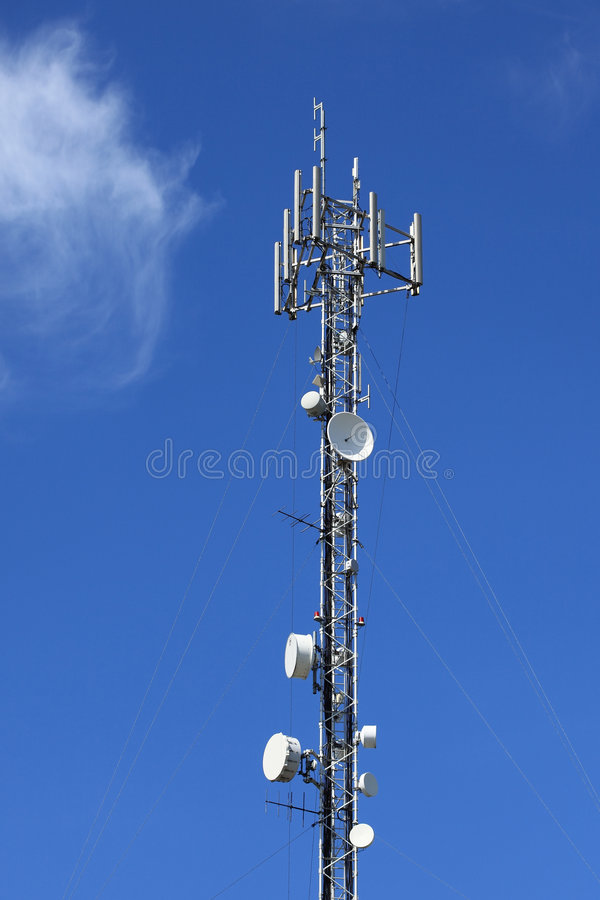 Download Antenna Communications Tower. Stock Image - Image: 9356641