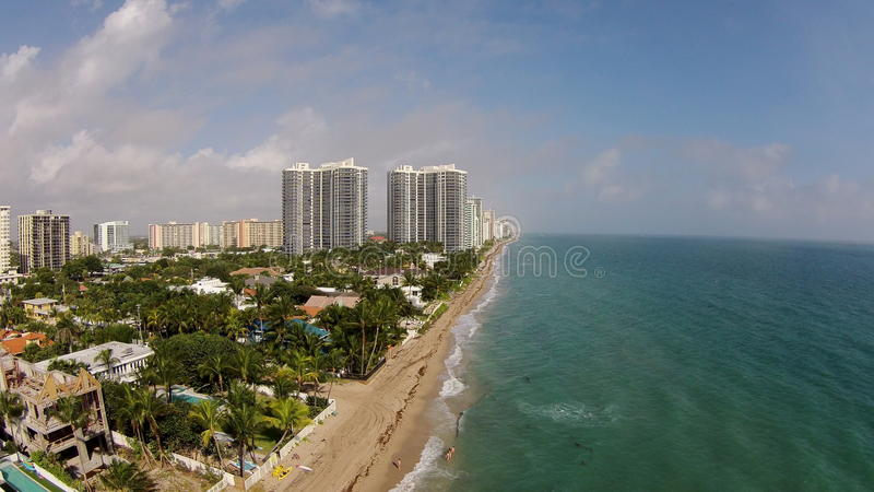 Antenna del Fort Lauderdale Florida fotografie stock