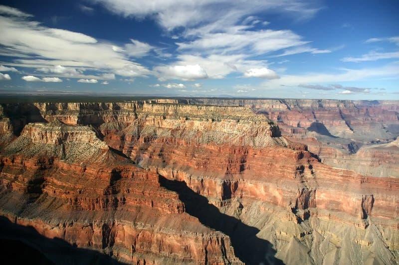 Antenna del grande canyon fotografia stock