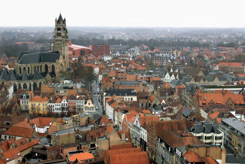 Antenna di Bruges immagini stock libere da diritti
