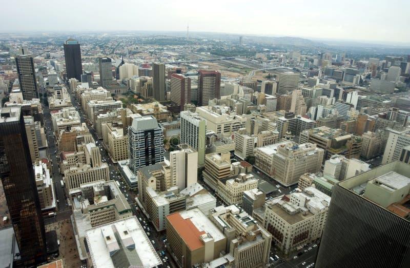Antenna di Johannesburg immagine stock