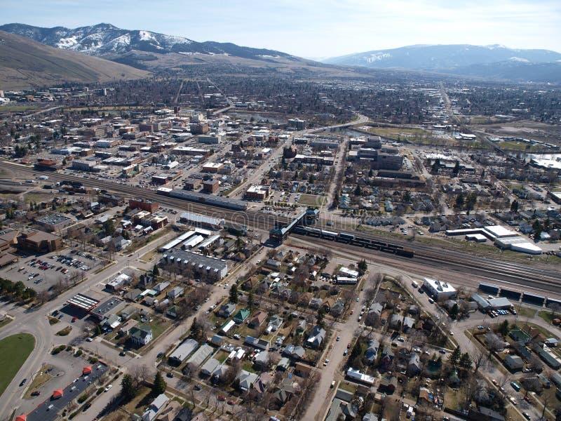 Antenna di Missoula Montana immagini stock