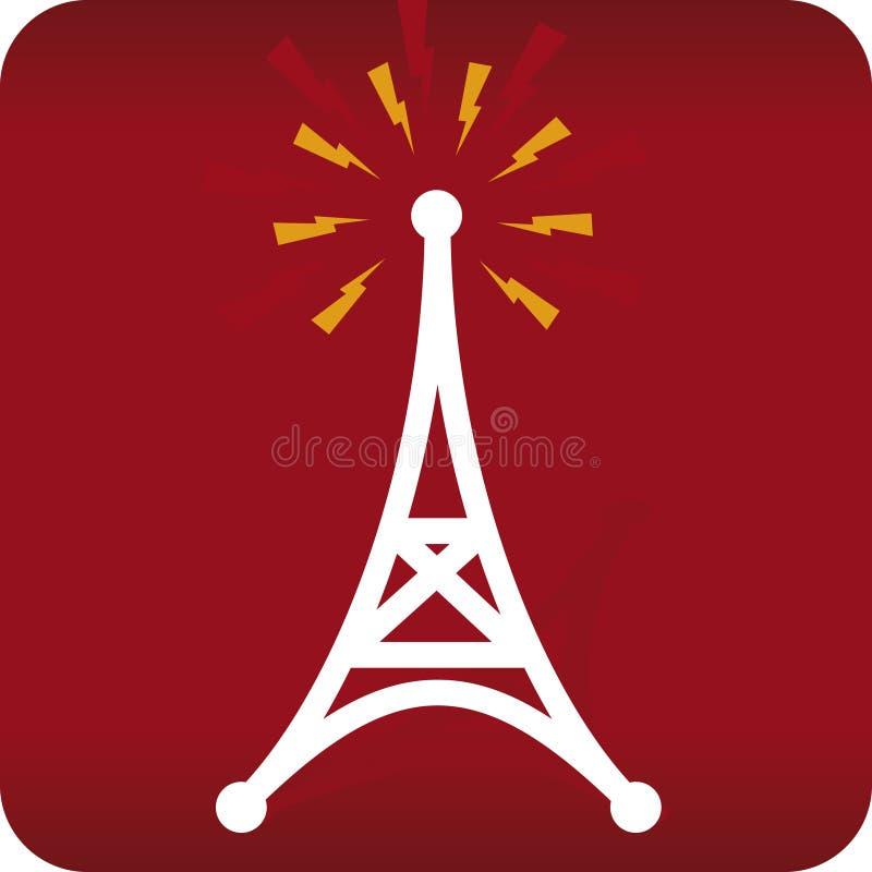 Antenna radiofonica (vettore) illustrazione di stock