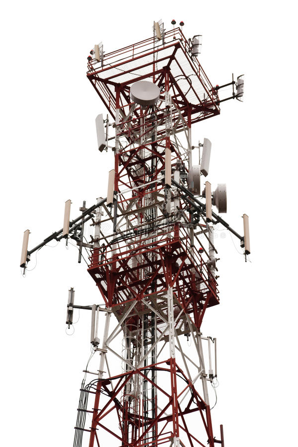 Download Antenna tower stock photo. Image of construction, isolated - 17372158