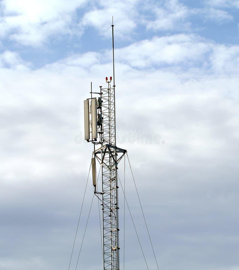 Download Antenna Tower stock image. Image of pylon, equipment - 25900711