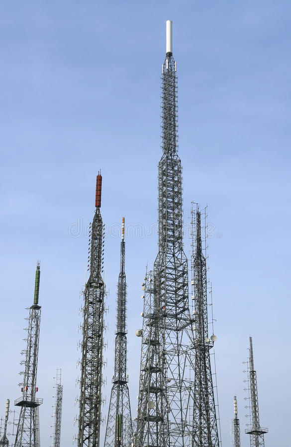 Download Antenna Tower stock photo. Image of cellular, antenna - 33552252