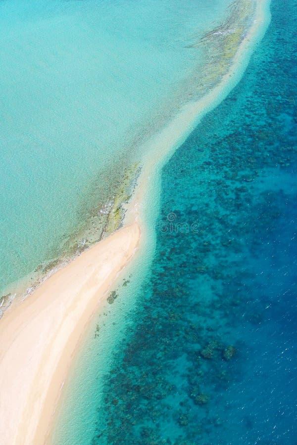 Antenna tropicale dell'isola fotografia stock libera da diritti