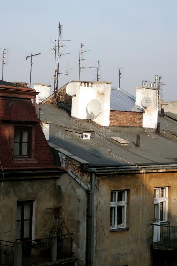 Antennas royalty free stock photos