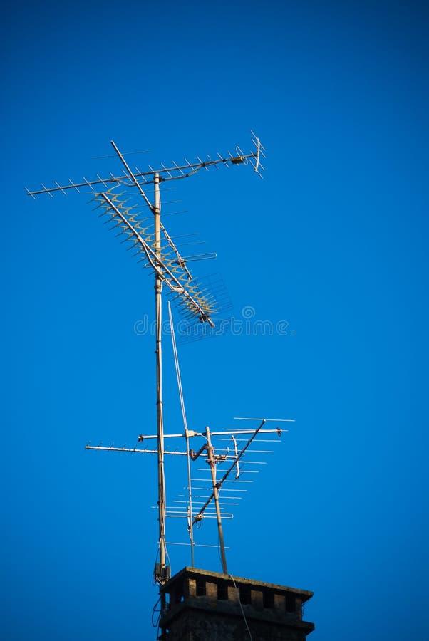 Download Antennas - stock image. Image of transmission, antennas - 25445721