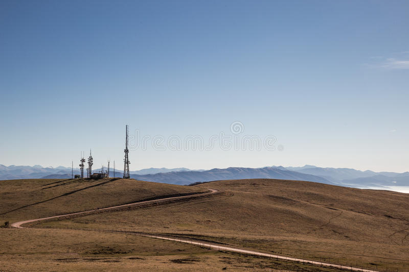 Antennas royalty free stock photo